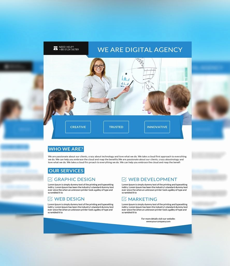 One Page Brochure Template Elegant E Page Flyer Design Yourweek 963d0eeca25e