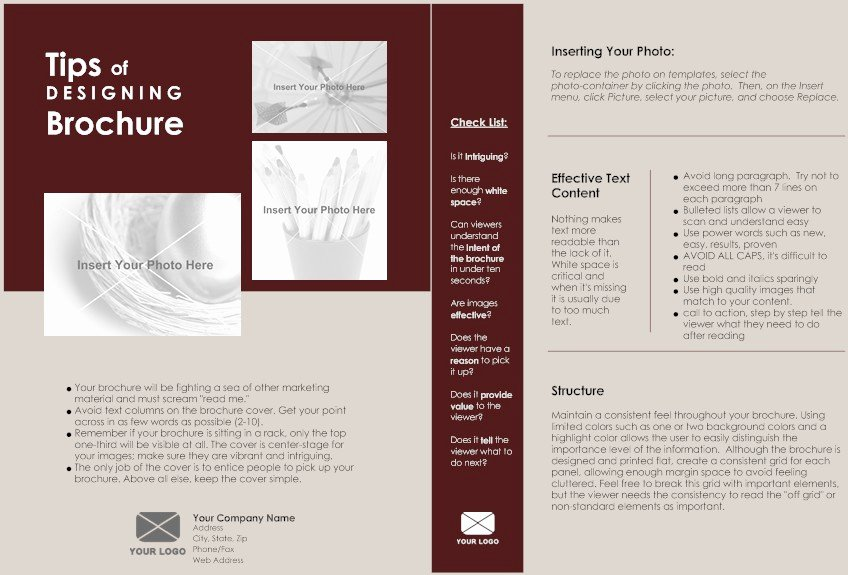 One Page Brochure Template Inspirational 18 1 Page Brochure Templates E Page Brochure