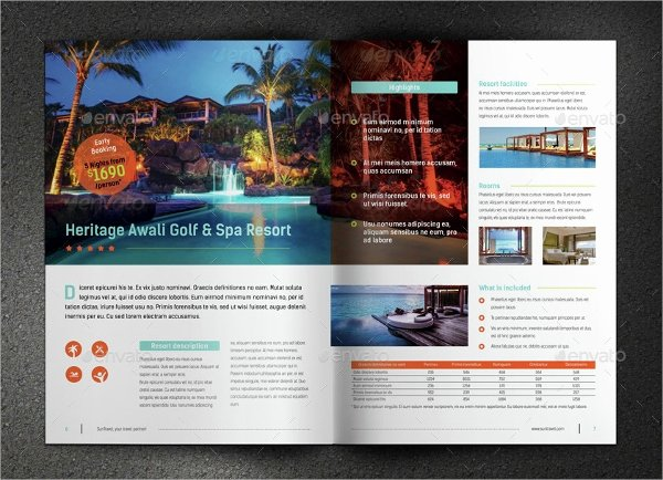 One Page Brochure Template Inspirational E Page Brochure Template 18 Free Psd Ai Vector Eps