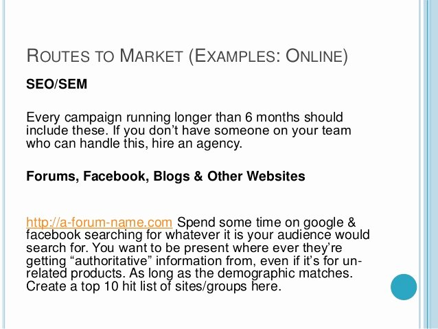 One Page Marketing Plan Template Awesome A Quick One Page Marketing Plan Template
