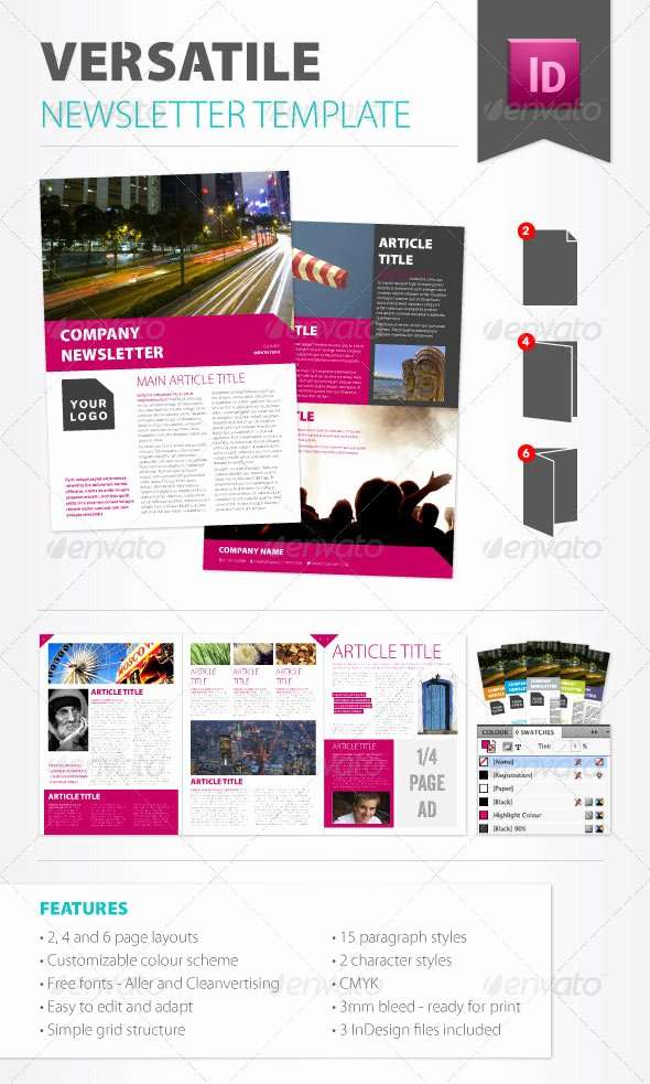 One Page Newsletter Template Fresh 10 Best Indesign Newsletter Templates – Design Freebies