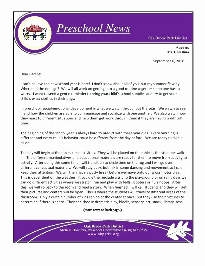 One Page Newsletter Template Inspirational E Page Newsletter Template Image Collections Template