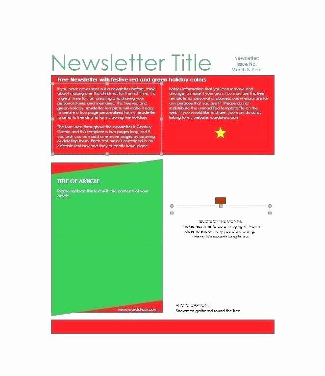One Page Newsletter Template Luxury 96 Youth Group Newsletter Templates Blank Church