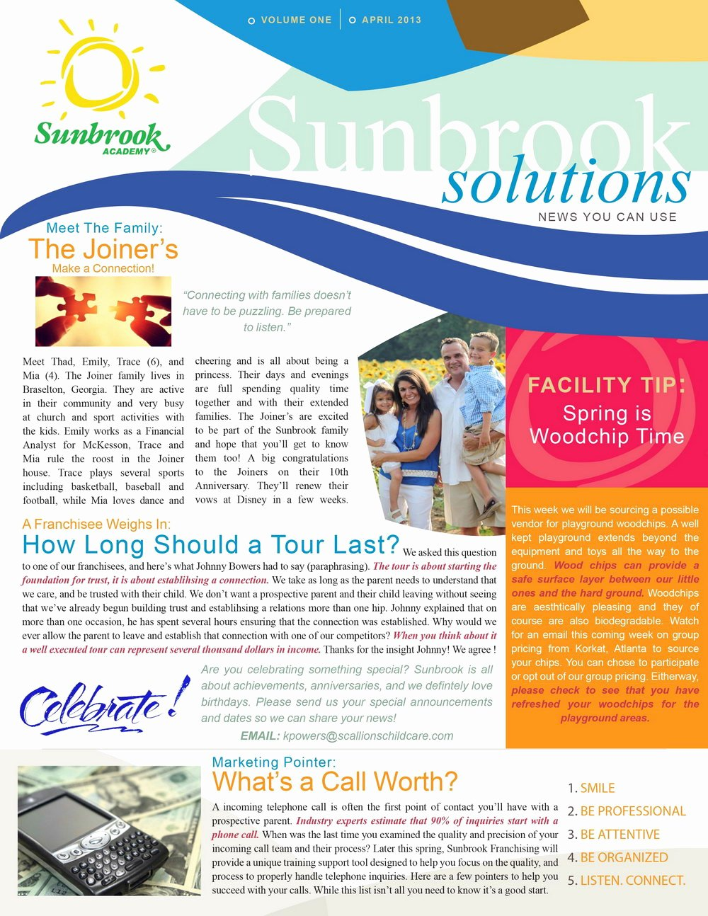 One Page Newsletter Template New Newsletter Template Indesign Templates