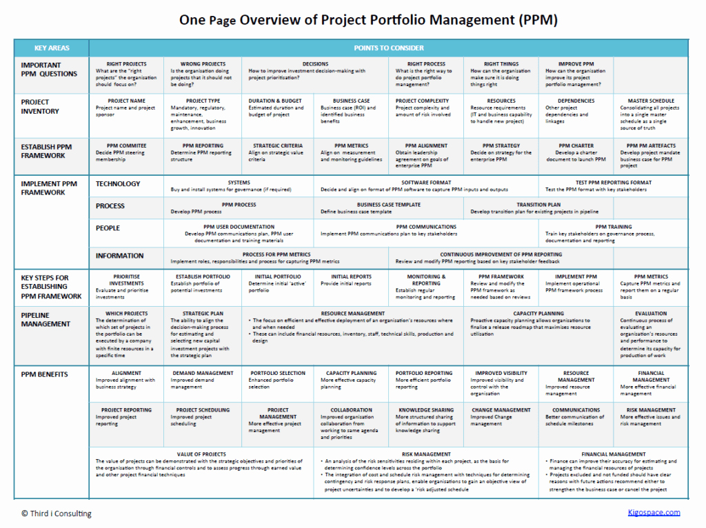 One Page Project Plan Template Unique One Page Business Case Template One Page Business Case