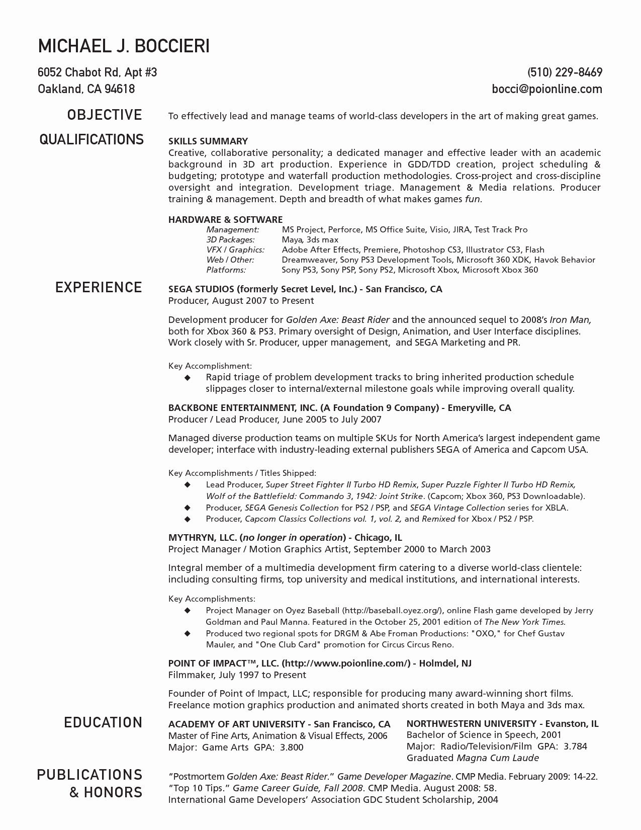 One Page Resume Template Free New E Page Resume Template