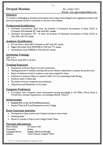 One Page Resume Template Word Best Of E Page Resume Template