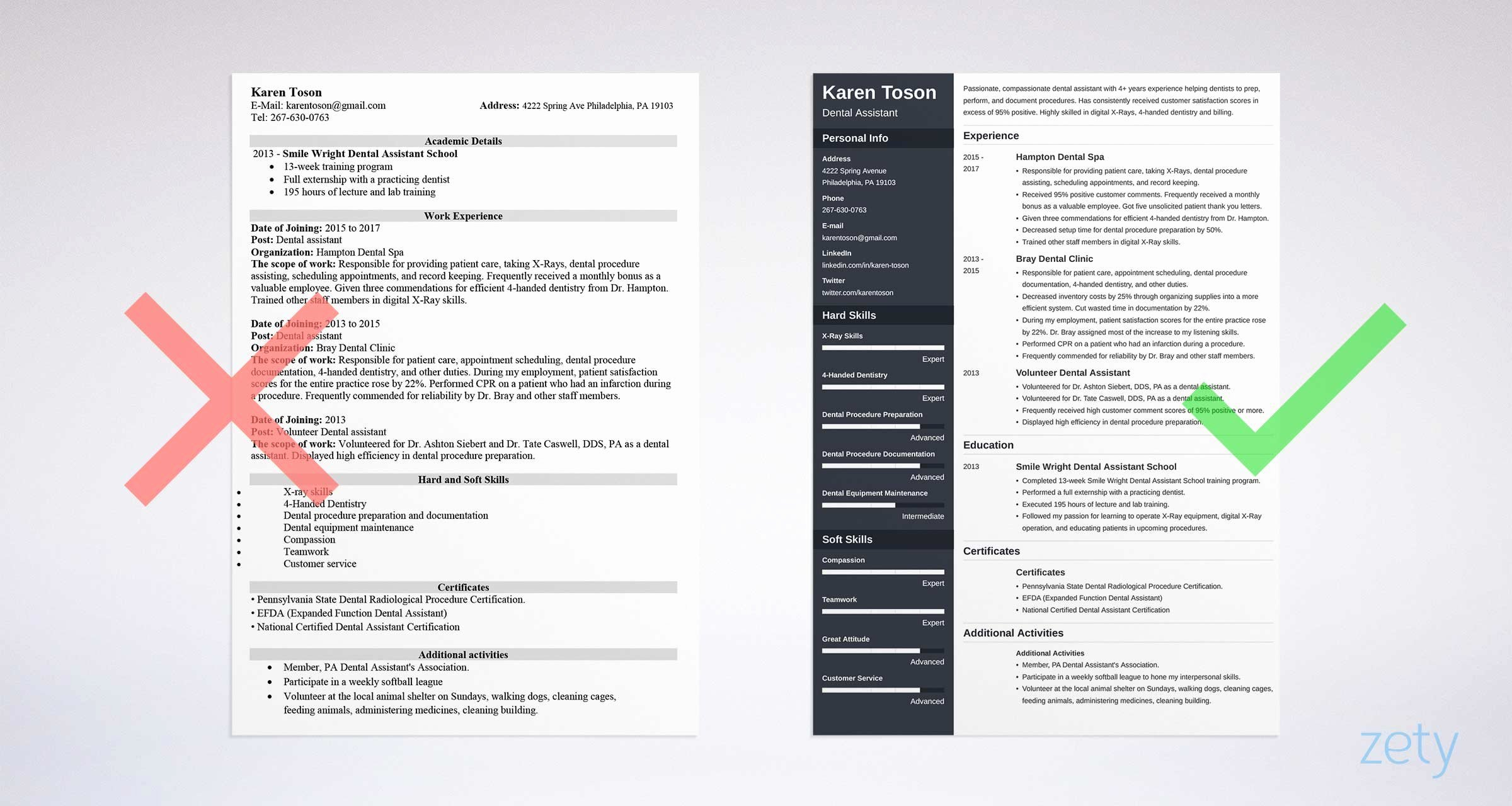 One Page Resume Template Word Luxury E Page Resume Templates 15 Examples to Download and Use now