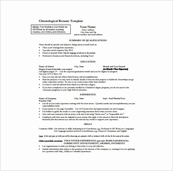One Page Resume Template Word New E Page Resume Template Word Best Resume Collection