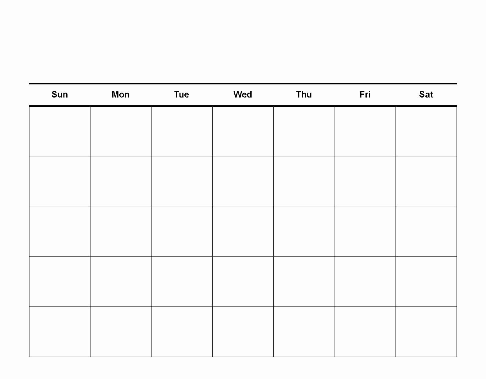 One Week Schedule Template Fresh 10 E Week Calendar Template Word Twuey