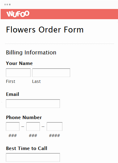 Online order form Template Best Of form Templates Archive