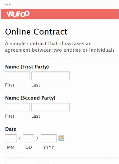 Online order form Template Unique Line form Template