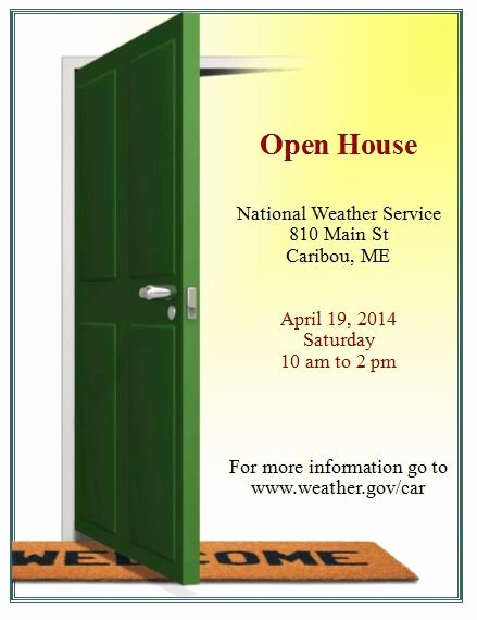 Open House Brochure Template Elegant Open House Flyer Templates for Microsoft Word