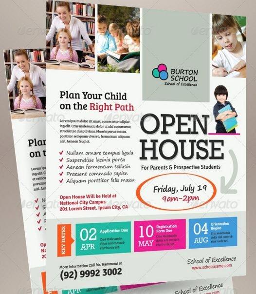 Open House Brochure Template Luxury Best 25 Open House Invitation Ideas On Pinterest