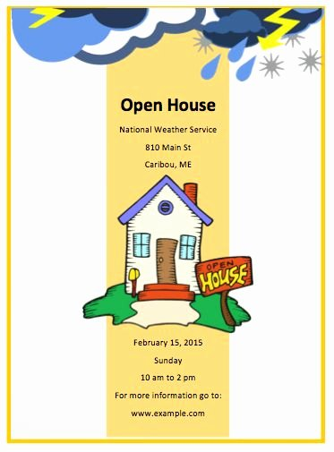 Open House Brochure Template New Real Estate Open House Flyer Flyers by with Sample Real