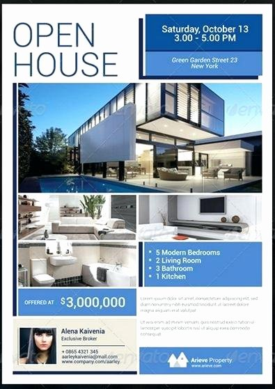 Open House Flyer Template Publisher Inspirational Real Estate Flyer Template Publisher Real Estate Flyer