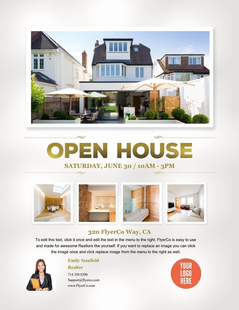 Open House Flyer Template Publisher New Open House Flyer
