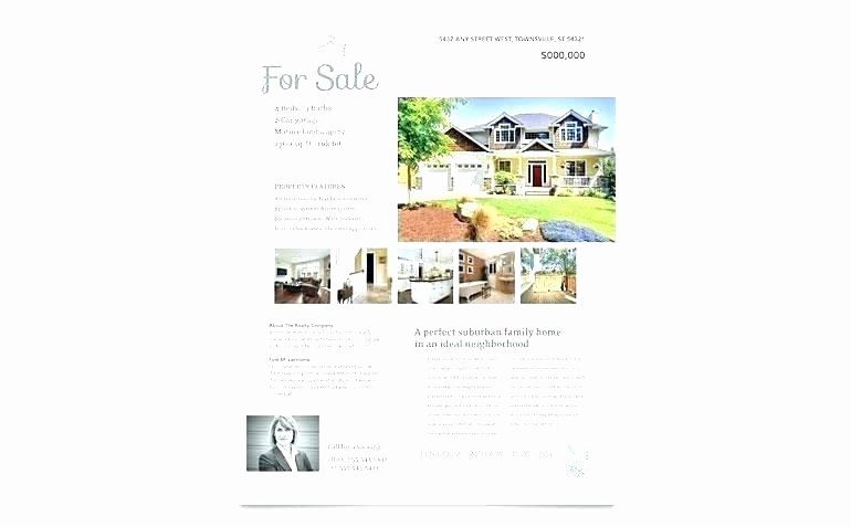 Open House Flyer Template Publisher New Publisher Real Estate Flyer Templates Real Estate Flyer