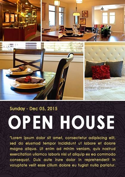 Open House Flyer Template Word Awesome 34 Best Open House Flyer Ideas Images On Pinterest