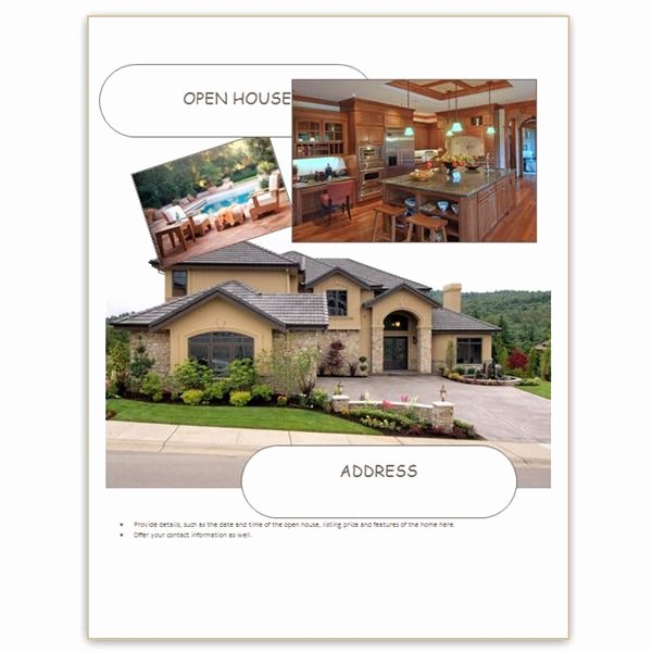 Open House Flyer Template Word Best Of Find Free Flyer Templates for Word 10 Excellent Options