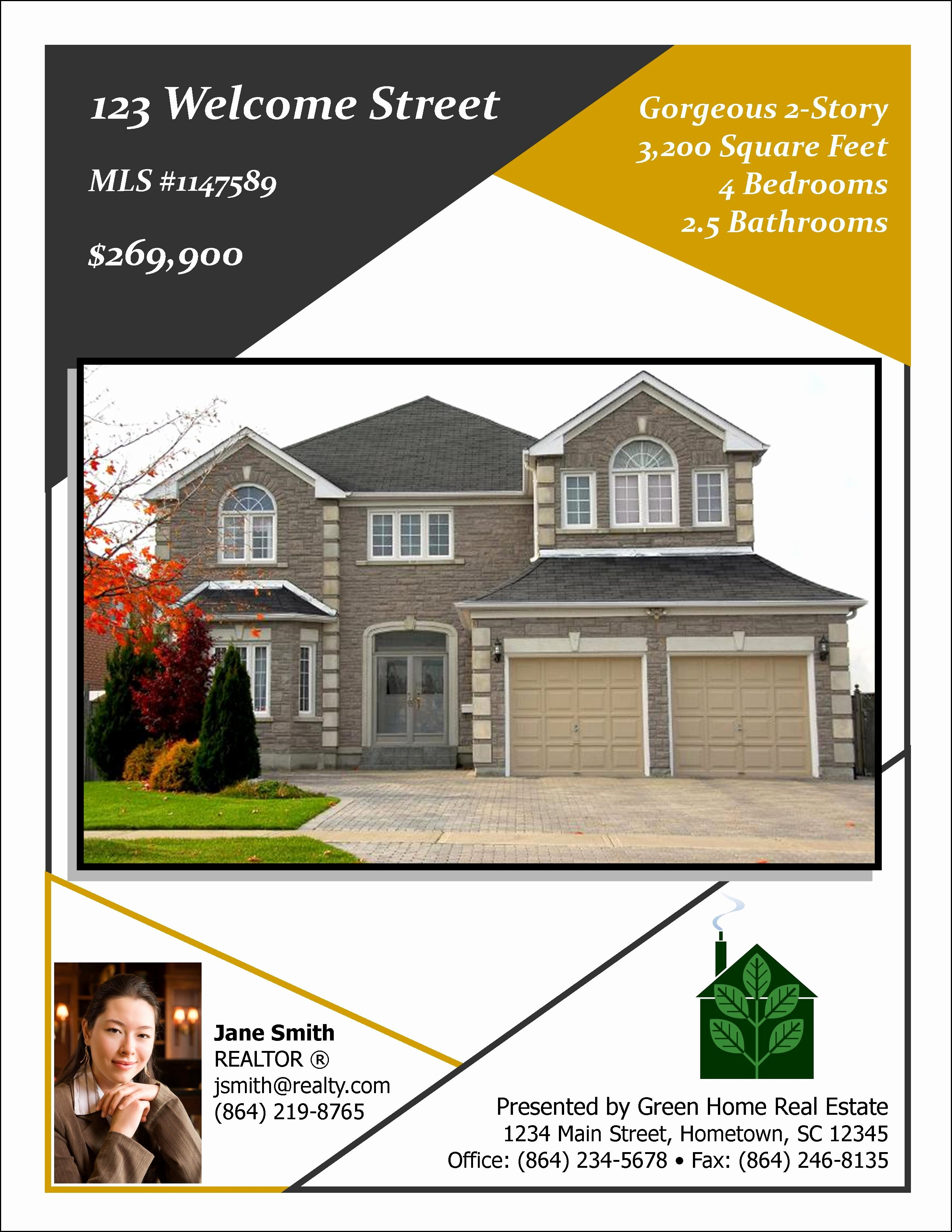 Open House Flyer Template Word Fresh Sample Flyer Designs