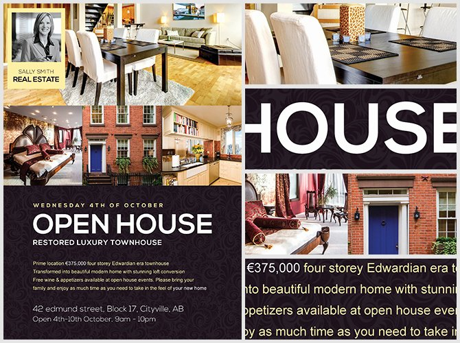 Open House Flyer Template Word Lovely Open House Flyer Template Flyerheroes