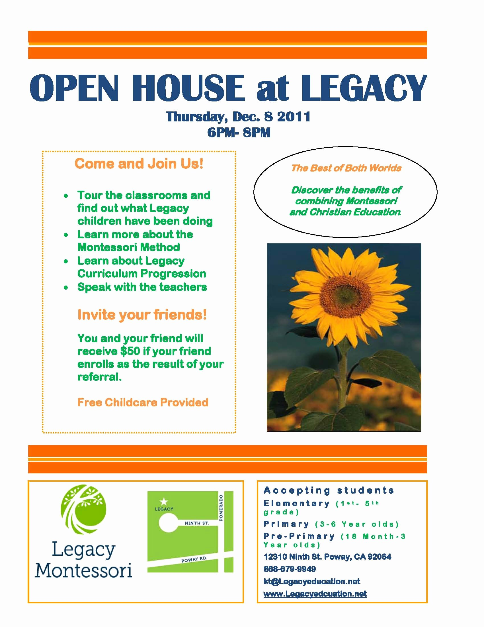 Open House Flyers Template Luxury Flyers I Like the Bright Colors Projects to Try Collection