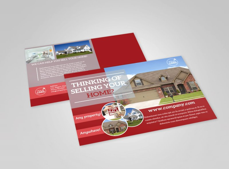 Open House Postcard Template Awesome Eddm Postcard Templates