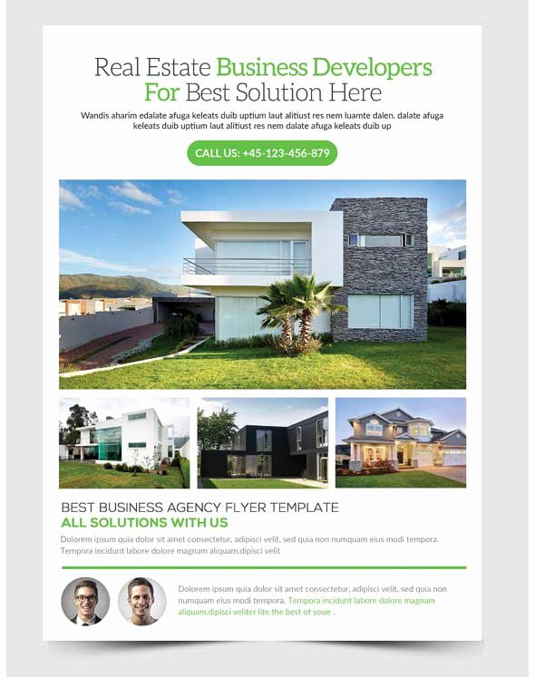 Open House Postcard Template Best Of Amazing Free Real Estate Flyer Templates Psd Downl with