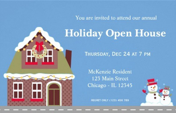 Open House Postcard Template Best Of Open House Invitations Templates Free Download 20