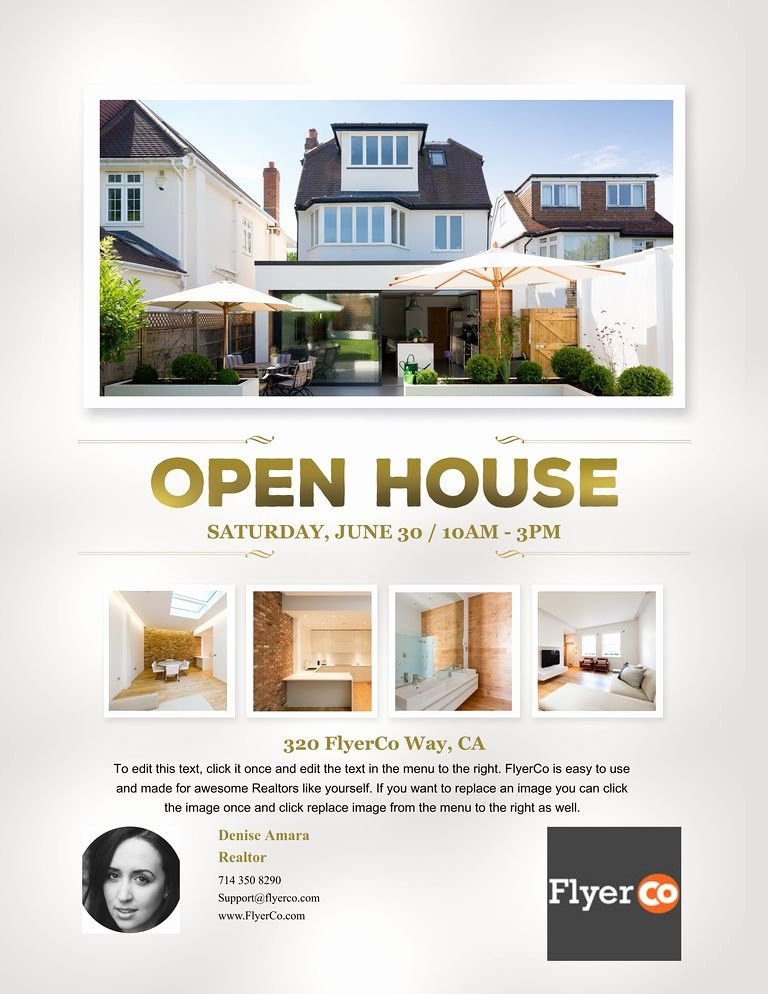 Open House Postcard Template Lovely Real Estate Listing Flyers Real Estate Marketing Blog