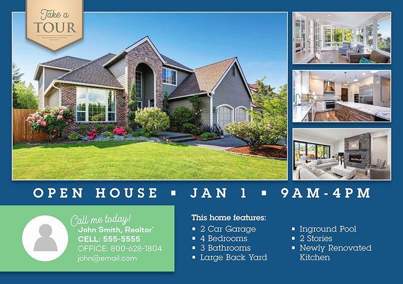 Open House Postcard Template New 126 Genius Real Estate Postcard Mailers You Should Steal
