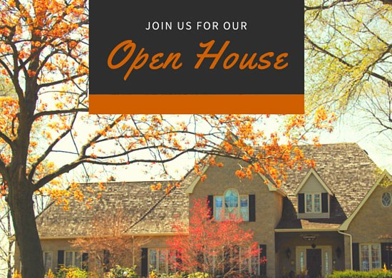 Open House Postcard Template Unique Open House Real Estate Invitation Postcard Templates by