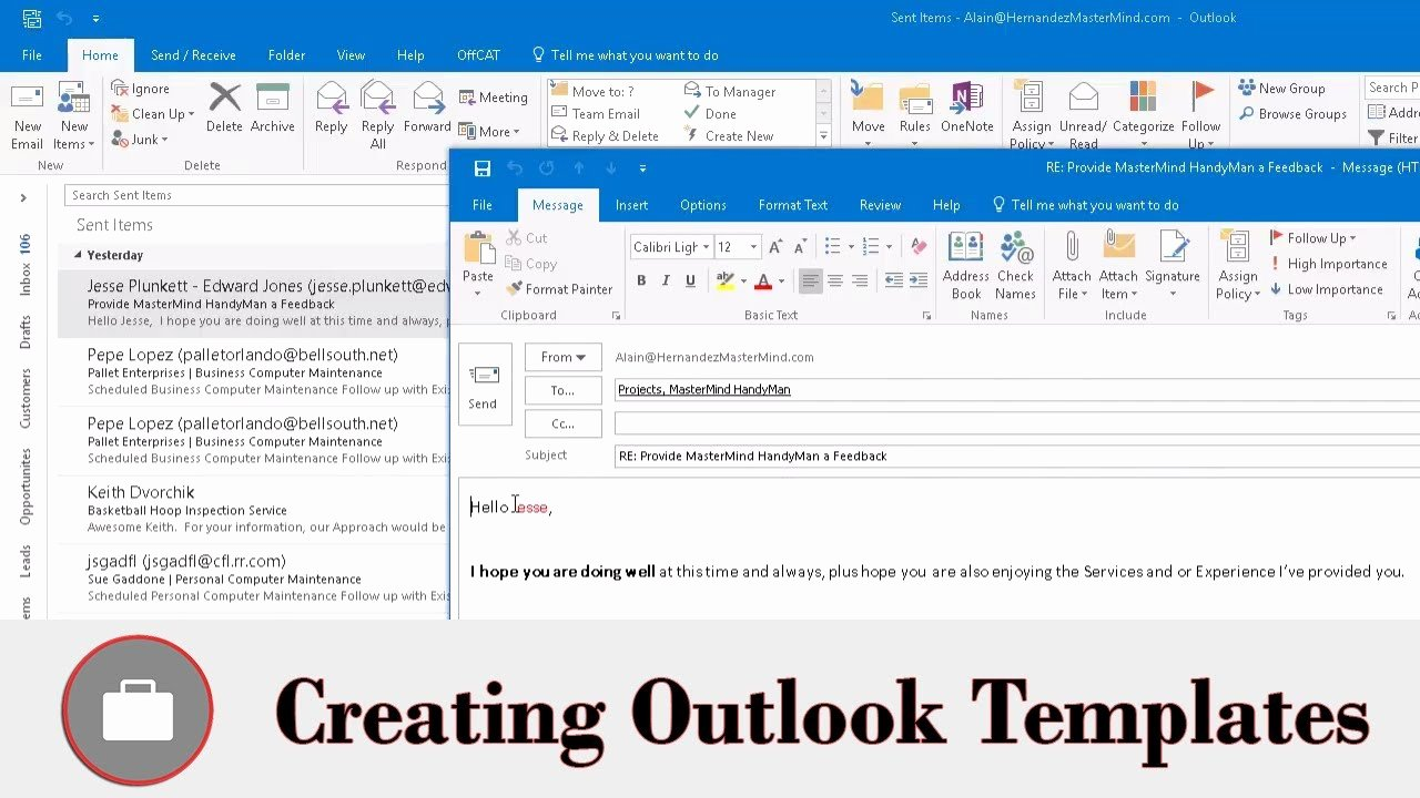 Outlook Email Template Free Unique Create Email Template In Outlook