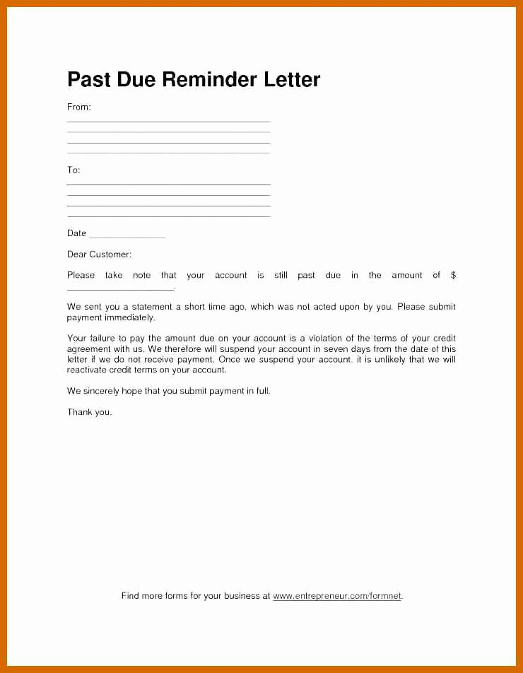 Paid In Full Invoice Template New 5 6 Past Due Letter Sample