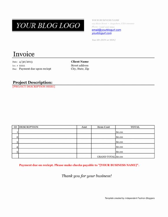 Paid In Full Invoice Template New Spiffy Invoice Template Paid In Full Receipt Templ On