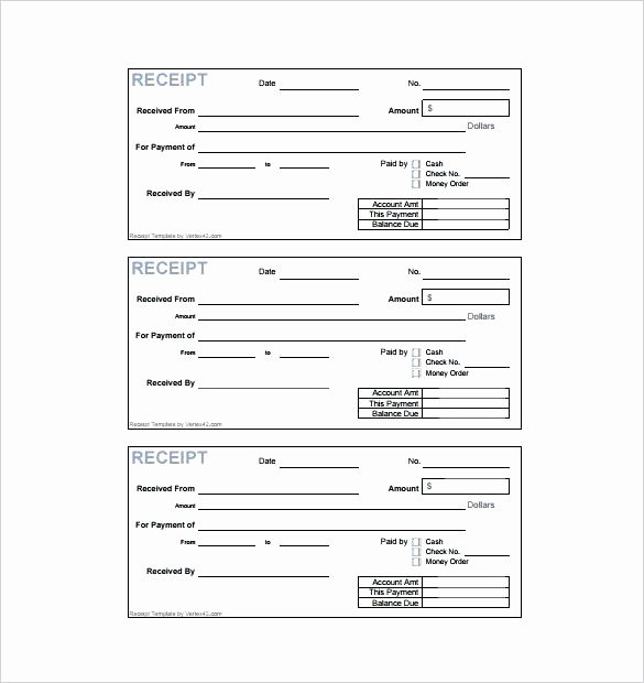 Paid In Full Receipt Template Lovely Paid In Full Receipt Template Payment Receipt format