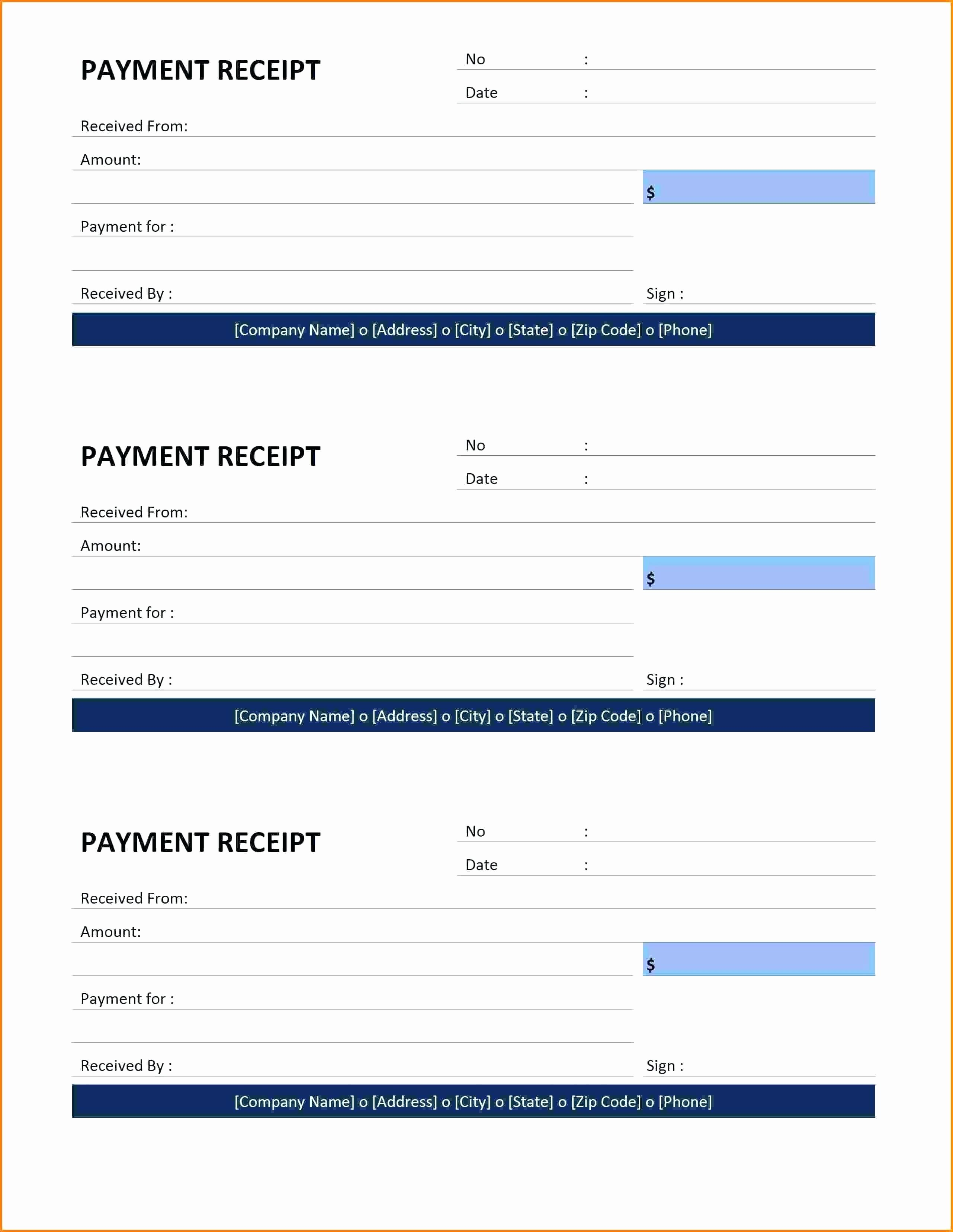 Paid In Full Receipt Template Unique Template Paid In Full Receipt Template Invoice Example