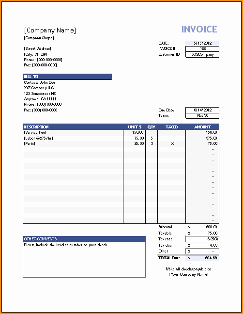 Paid Invoice Receipt Template Elegant 12 Paid Invoice Template