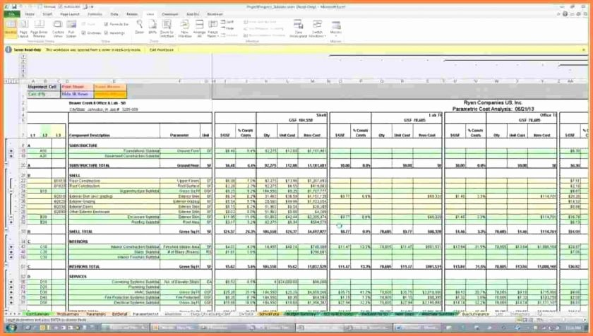 Painting Estimate Template Excel Best Of Construction Estimating Spreadsheet Template and Estimate
