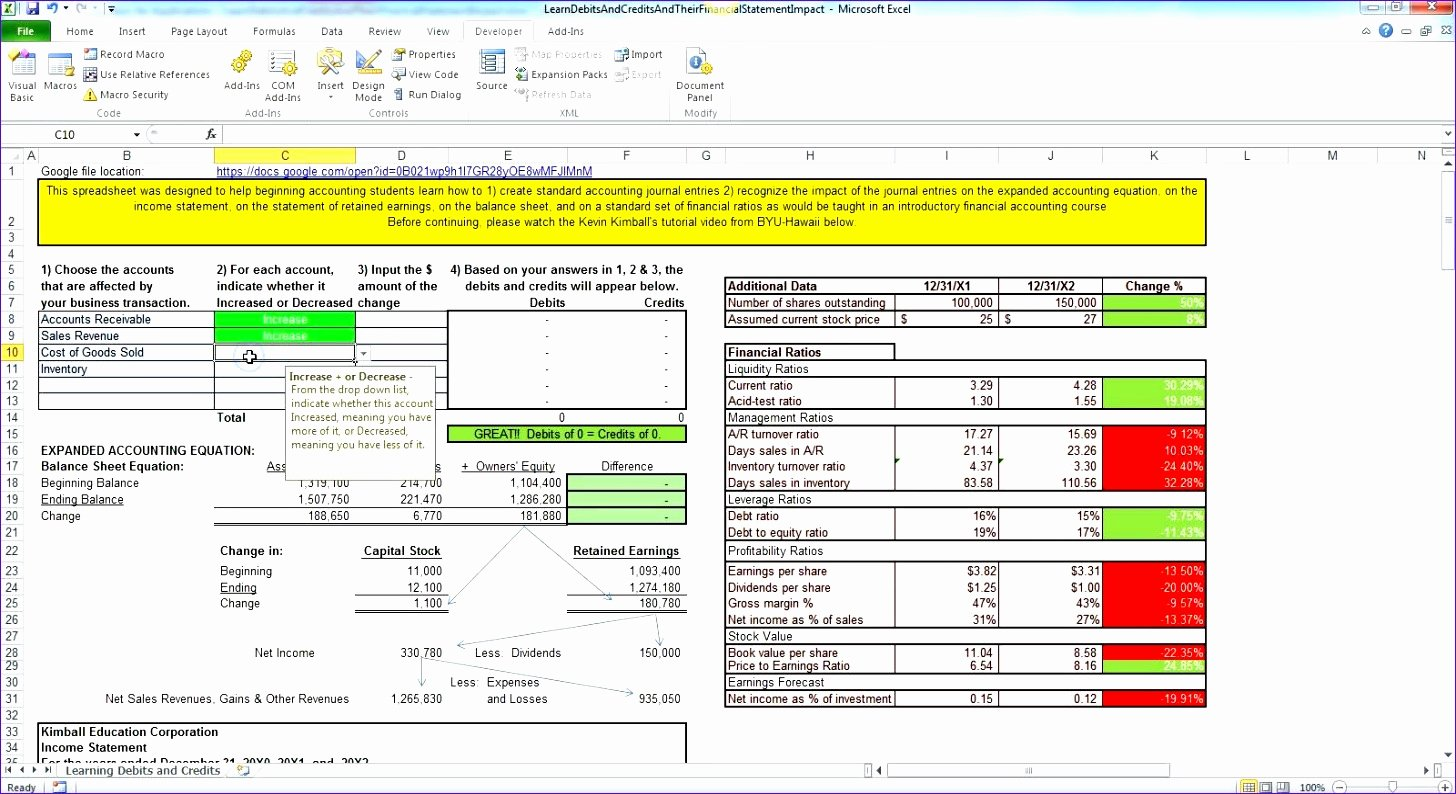 P&l Sheet Template Beautiful 6 Free Excel Inventory Templates Exceltemplates