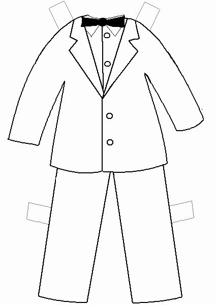 Paper Doll Clothing Template Elegant Printable Clothes Templates Paper Doll Project