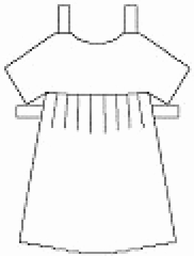 Paper Doll Clothing Template Unique Print Out and Cut these Free Paper Dolls Clothes and