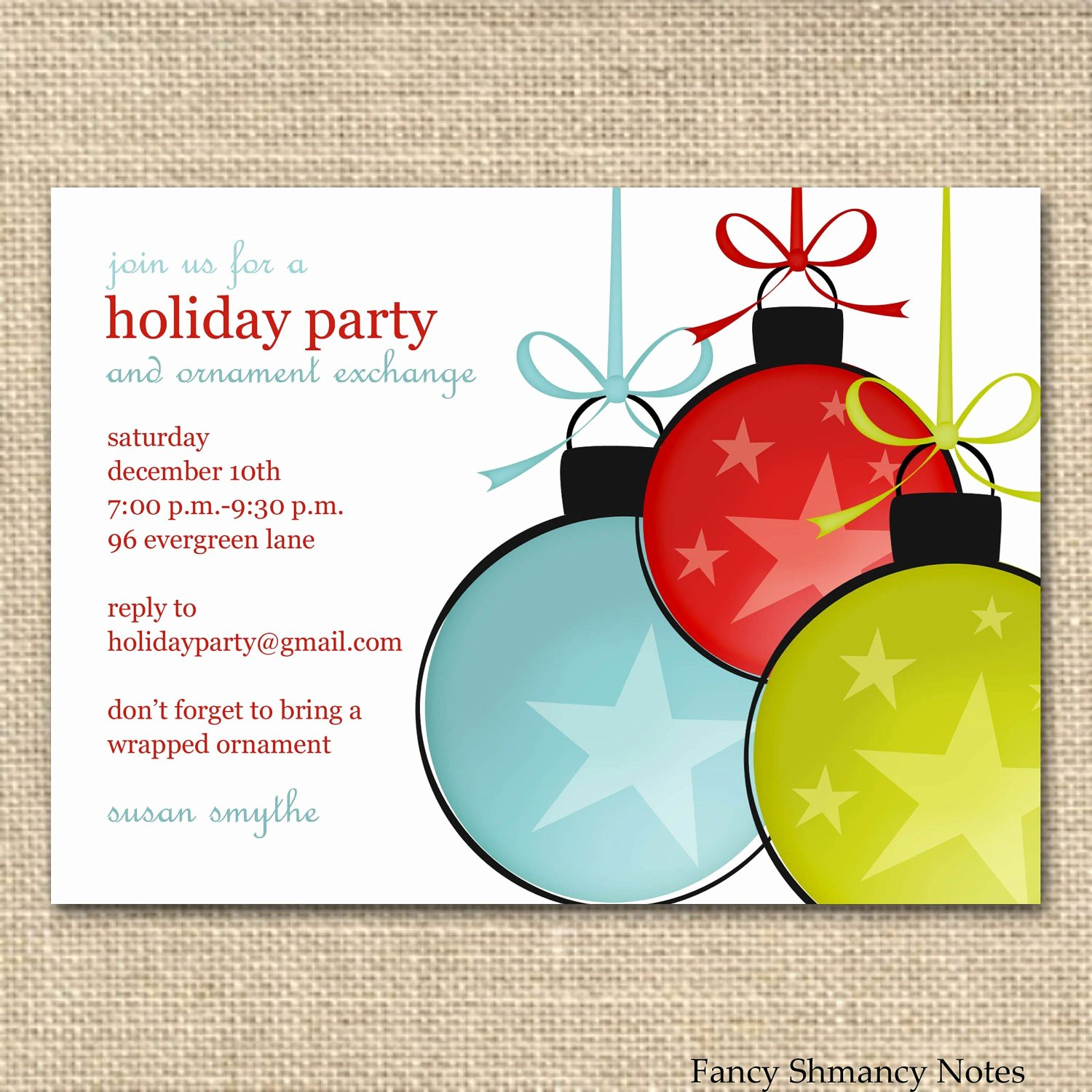 Party Invitation Email Template New Invitation Templates for Party New Holiday Party Email