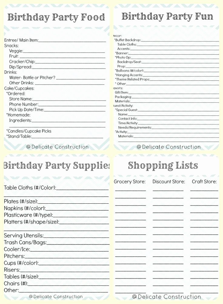Party Planning Budget Template Inspirational 10 Best Images About Holiday Birthday event Planner