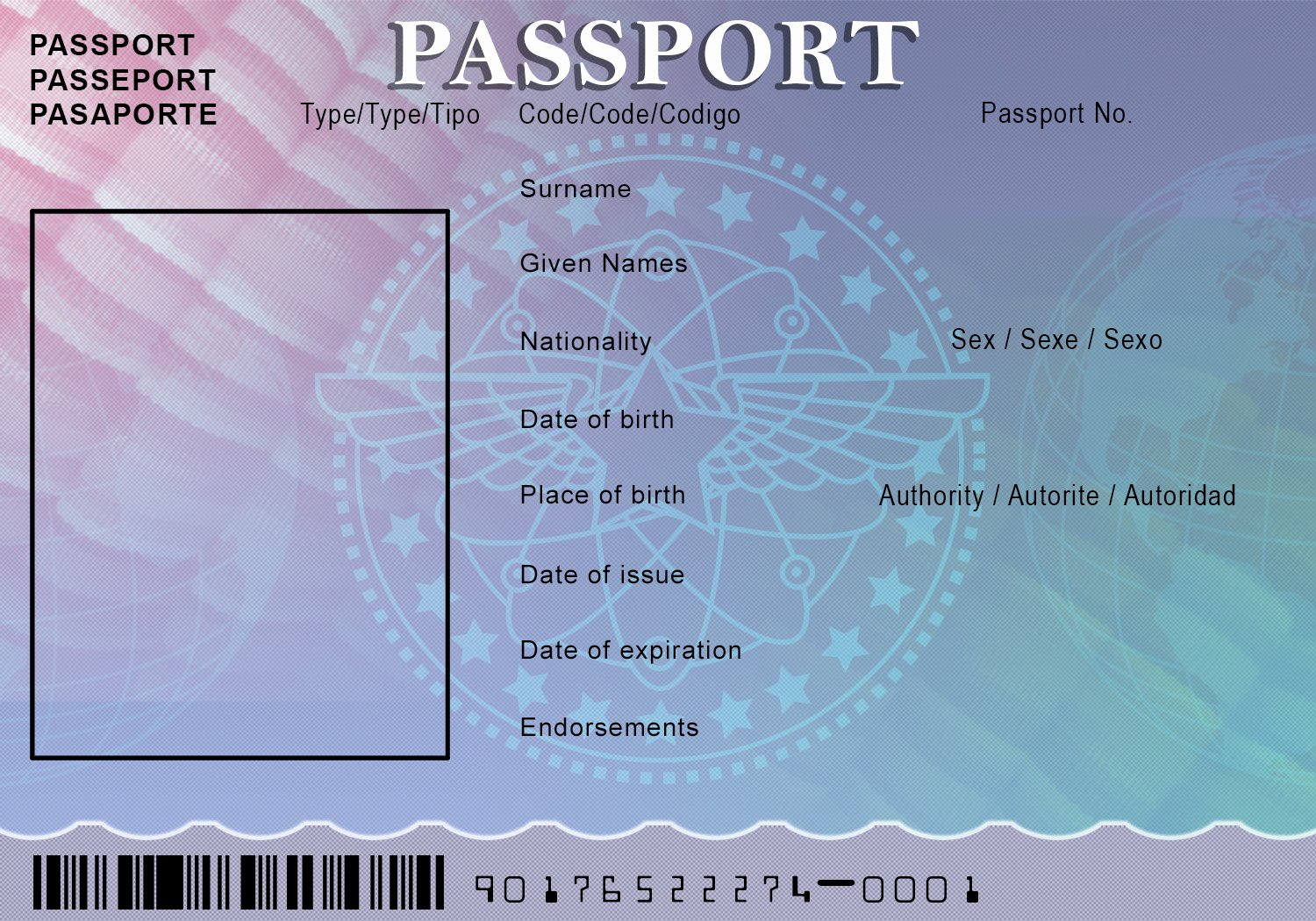 Passport Photo Template Psd Best Of Passport Template Beepmunk