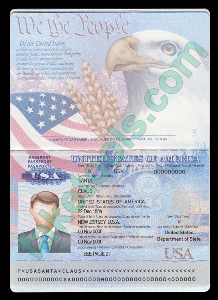 Passport Photo Template Psd Elegant Usa Passport Template Psd Usa Fake Id Template