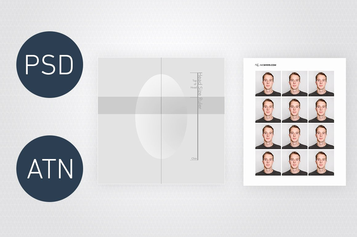 Passport Photo Template Psd Lovely Shop Visa & Passport Templates