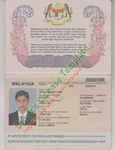 Passport Photo Template Psd Luxury Drivers License Fake Drivers License Drivers License