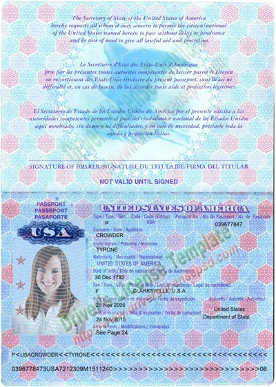 Passport Photo Template Psd Unique Passport Template Psd